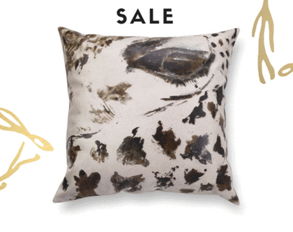 כריות עם הדפס חיות - כרית עור בז׳ כרית שחור לבן - כרית מיוחדת - כרית ג׳יפה- כרית דמוי עור בצבע בז׳ - כרית ינשוף - כרית עם סוס