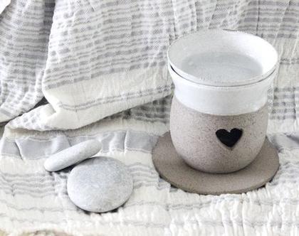 מבער מקרמיקה | מבער שמנים | מבער לריח טוב | מתנה מקורית | אווירה לבית | עיצוב הבית | בישום לבית