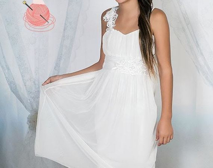שמלה קלאסית לבת מצווה