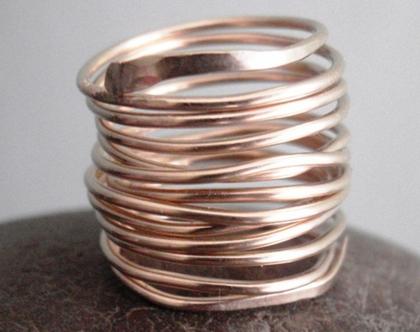 טבעת קפיץ מלופפת בחוטי גולדפילד