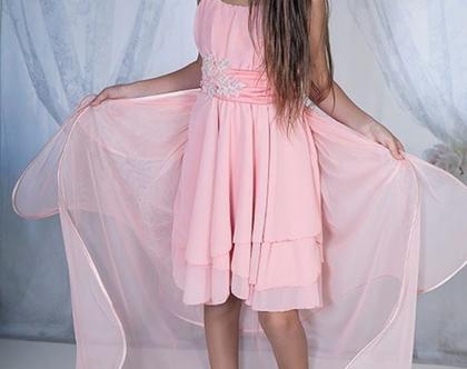 שמלת קורל בת מצווה
