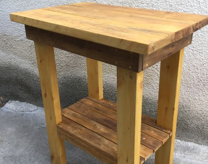 שולחן בוצ'ר בלוק, שולחן למטבח, שולחן לפינת קפה, שולחן עץ למטבח, שולחן עץ ממוחזר, שולחן עץ אלון