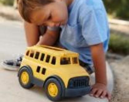 אוטובוס צהוב 100% אקולוגי, Green Toys