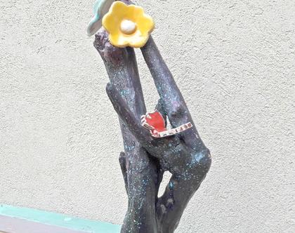 פסל עץ | פסל עץ סחף | אמנות מקורית |