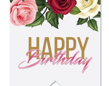 שלט יום הולדת לאירוע קסום ורומנטי