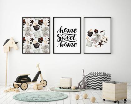 פוסטרים לחדרי ילדים | מונוכרום | עיצוב הבית | מתנה ליולדת | חדרי ילדים | ילדים מתוחכמים