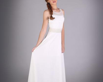 שמלת לואית ארוכה לבת מצווה של המעצבת שירן סבוראי