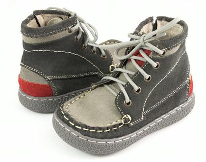 נעלי ילדים Livie & Luca ריץ רץ' בצד - אפור