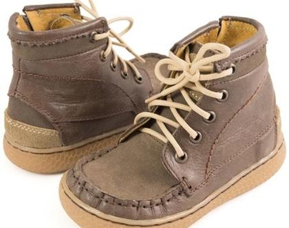 נעלי ילדים Livie & Luca ריץ רץ' בצד - חום