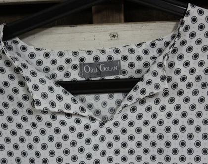 אורלי גולן-חולצת אוברסייז עיגולים