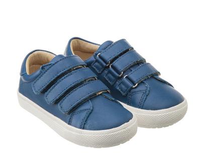 נעלי URBAN MARKERT | סניקרס לילדים | נעלי ילדים | נעלי עור לילדים | כחול | COBALT