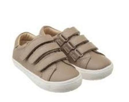 נעלי URBAN MARKERT | סניקרס לילדים | נעלי ילדים | נעלי עור לילדים | חאקי| TAUPE