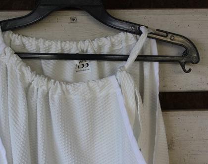 חולצה לבנה מיוחדת של FISS