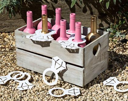 טבעות נייר בחיתוך עדין ומדויק - Bridal shower   מסיבת רווקות   קישוטים למסיבת רווקות   עיצוב מסיבת רווקות