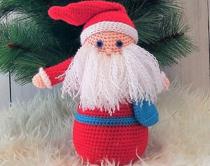 סנטה קלאוס ,חג המולד,כריסמס,נובי גוד ,בובה סרוגה