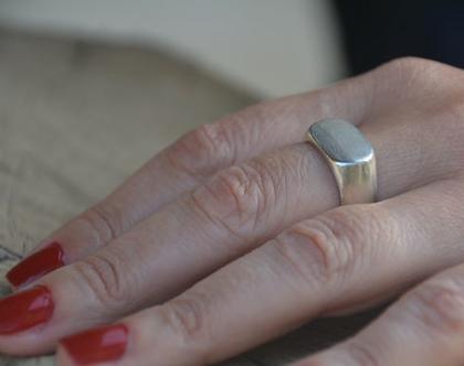 טבעת חותם כסף, טבעת חותם גדולה, טבעת בסגנון וינטג', טבעת מיוחדת, טבעת חותם, טבעת עם חריטה, טבעת בחריטה שמות, טבעת לגבר, טבעת עם שם