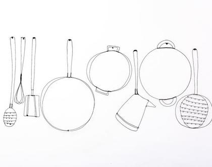 כלי מטבח - חוטי ברזל