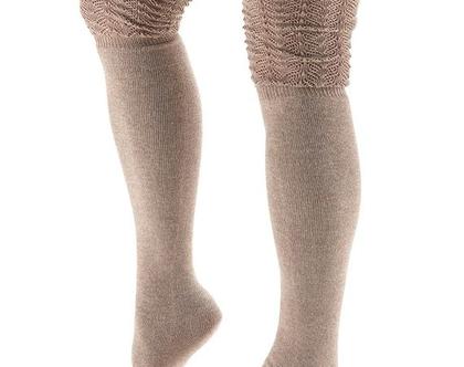חותלות גבוהות מעל הירך, כותנה אורגנית-LEG WARMER SASHA