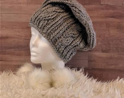 כובע סרוג יוניסקס,לגבר,לאשה