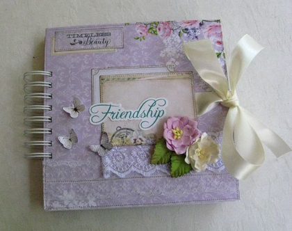 אלבום / ספר ברכות למסיבת רווקת / אלבום לחברה / מתנה לאישה / מתנה לכלה