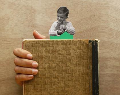 סימנית השראה: ילד וארנבון