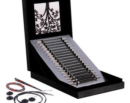 סט מתנה - מסרגות מתחלפות KnitPro Karbonz - Box of Joy - משלוח חינם!