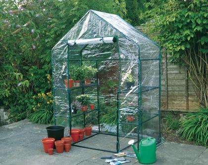 חממה אנגלית לגינה הביתית