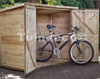 מחסן גינה מעץ Storage Westerwald מחסן לאיחסון אופניים: 2X0.90 מטר