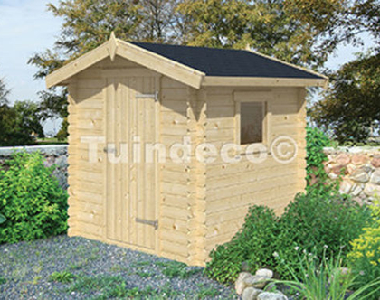 Argo ארגו בקתת עץ או מחסן עץ לגינה