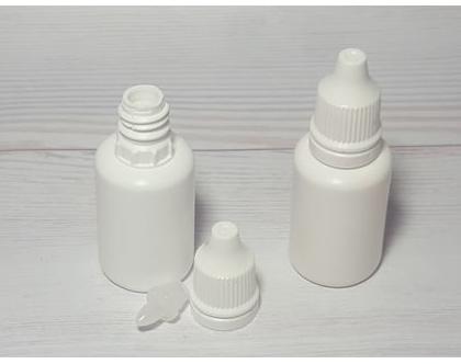 """10 בקבוקי טיפות עיניים ריקים - 20 מ""""ל"""