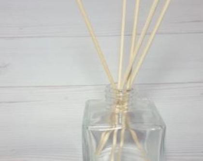 """צנצנת זכוכית לדיפיוזר - מפיץ ריח - 140 מ""""ל"""