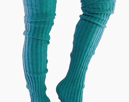 חותלות חורפיות גבוהות מעל הברך-LEG WARMERS THIGH HIGH