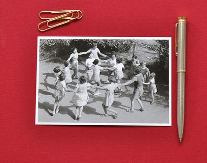 גלויה: רוקדים הורה