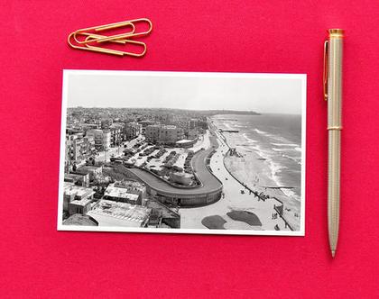 גלויה: קו החוף של תל-אביב