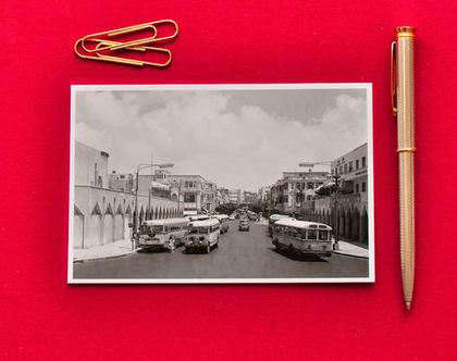 גלויה: אוטובוסים באלנבי