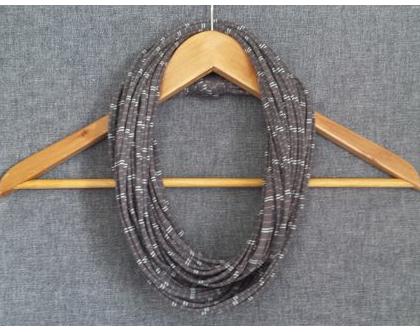 צעיף בד | צעיף חוטים | צעיף שרשרת | צעיף לולאה | שרשרת צעיף