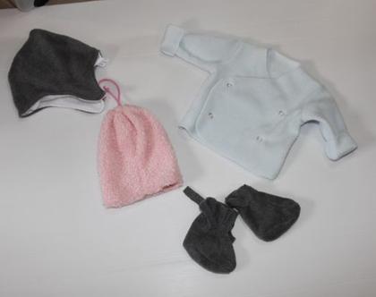 נעלי תינוקות / אפור