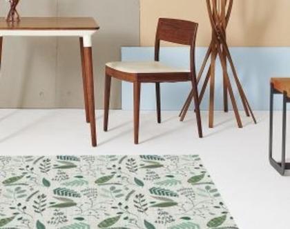 שטיח קקטוסים, שטיחים מודפסים, שטיח מודפס בירוק ,שטיחי PVC