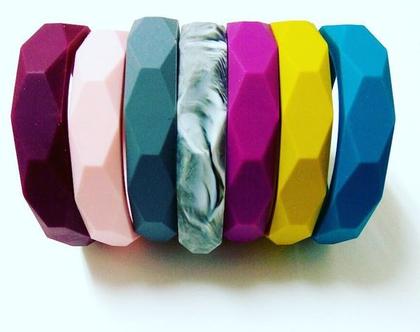 צמיד סיליקון צבעי חורף