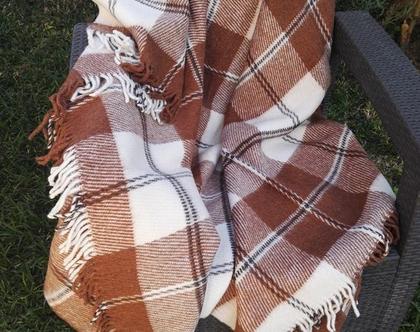 כירבולית צמר איכותית 140*200 | שמיכה חורפית |שמיכה דו צדדית | שמיכת צמר | כירבולית צמר | צמר | צמר מרינו |