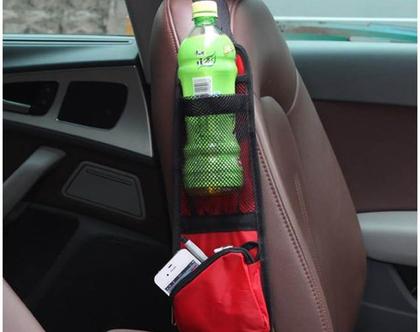 אירגונית כיס לצד המושב ברכב
