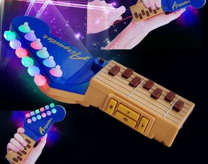 גיטרת אוויר עם אורות