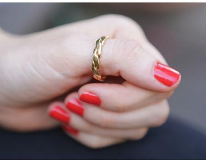 טבעת נישואין מזהב 14K