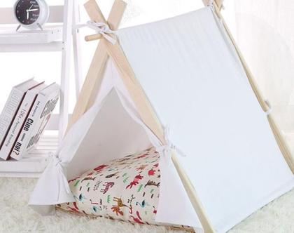 אוהל קטנטנים לבן
