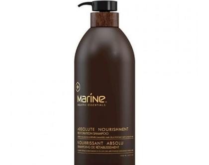 """שמפו מרין לשיער בריא - אריזה ענקית - 1000 מ""""ל"""