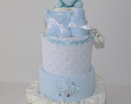 עוגת קומות בייבי מתנה-לה
