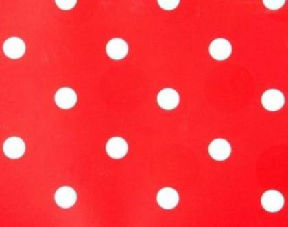 טפט אדום נקודות