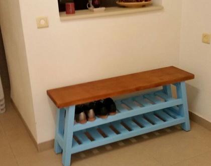 ספסל אכסון לנעליים דגם יגור