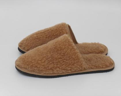 נעלי בית מצמר לגבר נעלי בית לחורף נעלי בית מצמר נעלי בית לגברים נעלי בית לגבר נעליים מצמר נעלי בית מחממות צמר כבשים