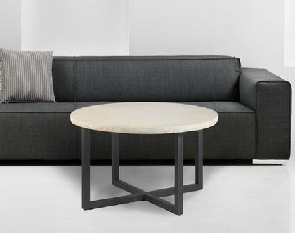שולחן סלון מבטון